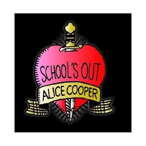 Alice Cooper Greetings Card: School's Out