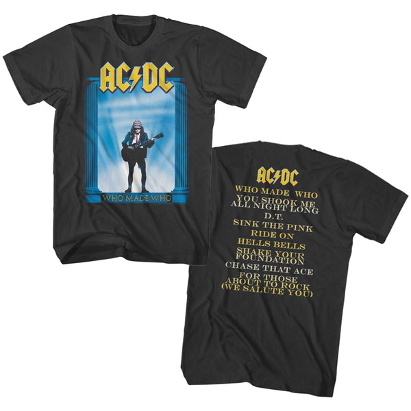 ACDC Who Made Who Album Adult Tee