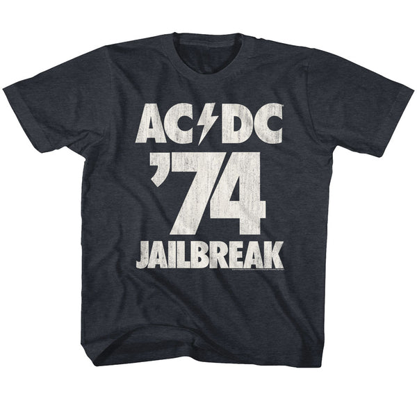 ACDC Jailbreak 74 toddlers short sleeve t-shirt