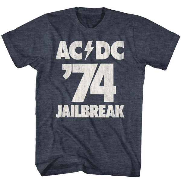 ACDC Jailbreak 74 adult short sleeve t-shirt.