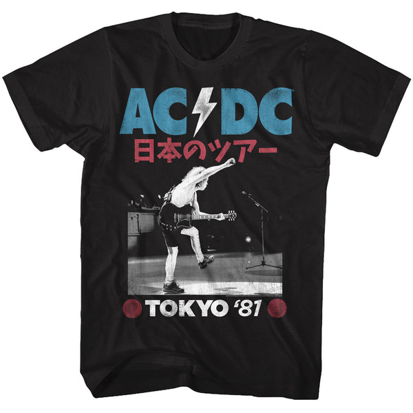 ACDC Tokyo 81 adult short sleeve t-shirt.