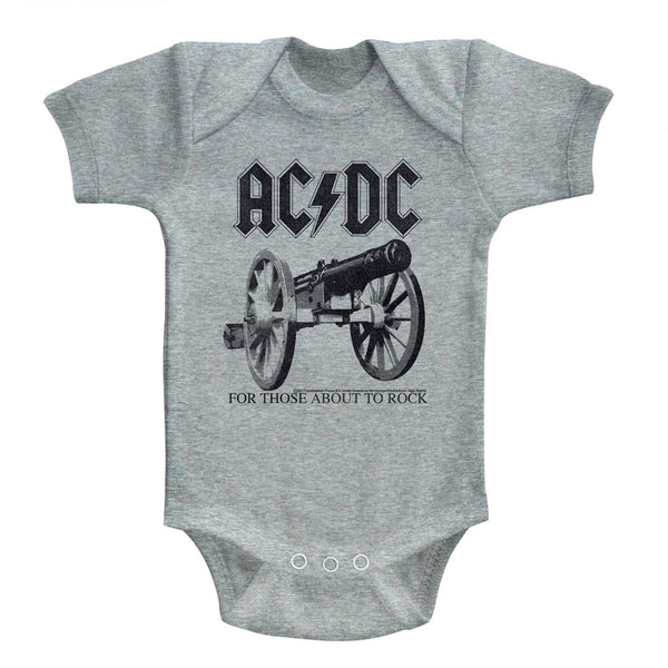ACDC For Those About To Rock Newborn Bodysuit