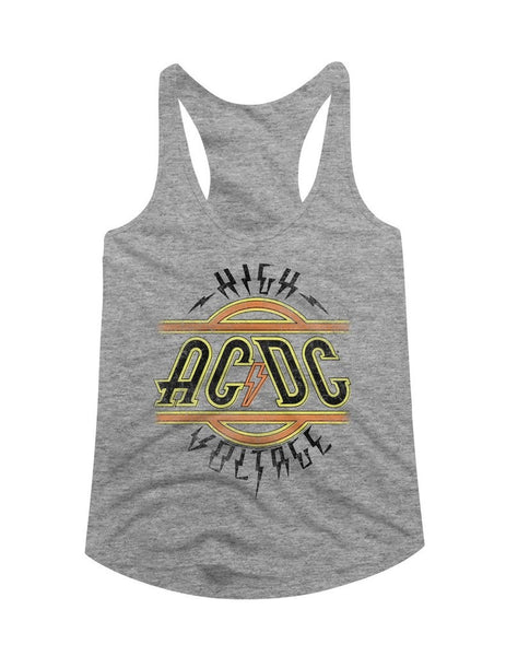ACDC High Voltage Ladies Racerback Tank Top