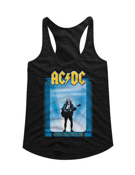 ACDC Who Made Who Ladies Racerback