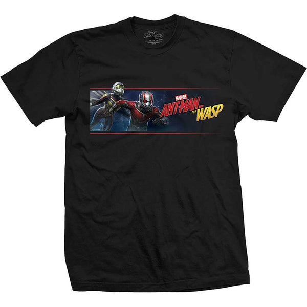 Marvel Comics Unisex Tee: Ant Man & The Wasp Banner