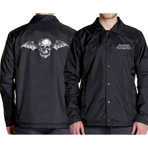 Avenged Sevenfold Deathbat Coaches Jacket is available at Rocker Tee