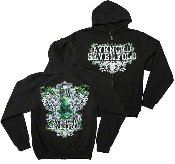 Avenged Sevenfold Flourish Hoodie is available at Rocker Tee
