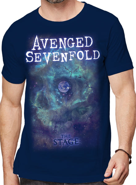 Avenged Sevenfold Space Face t-shirt is available at Rocker Tee