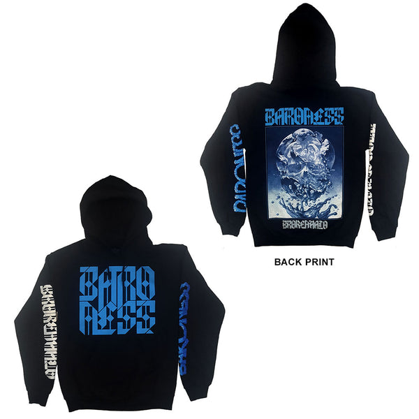 Baroness Unisex Pullover Hoodie: Broken Halo (Ex-Tour/Back Print) (Large)