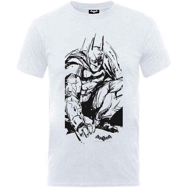 DC Comics Kids Tee: Batman Arkham Sketch (12 - 13 Years)