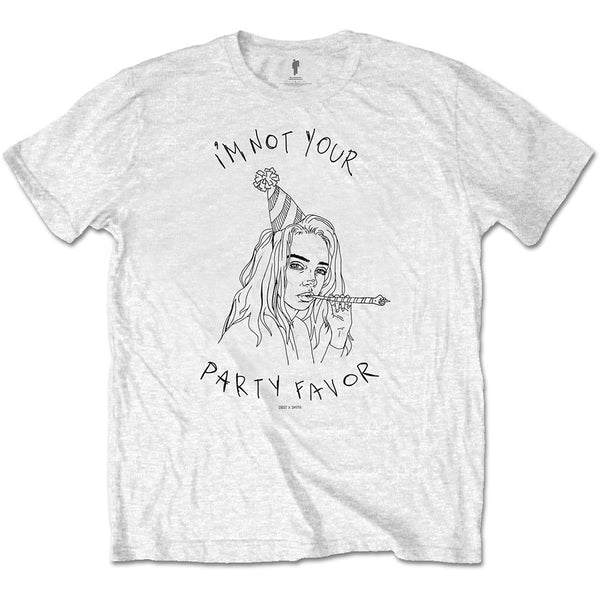 Billie Eilish Unisex Tee: Party Favor