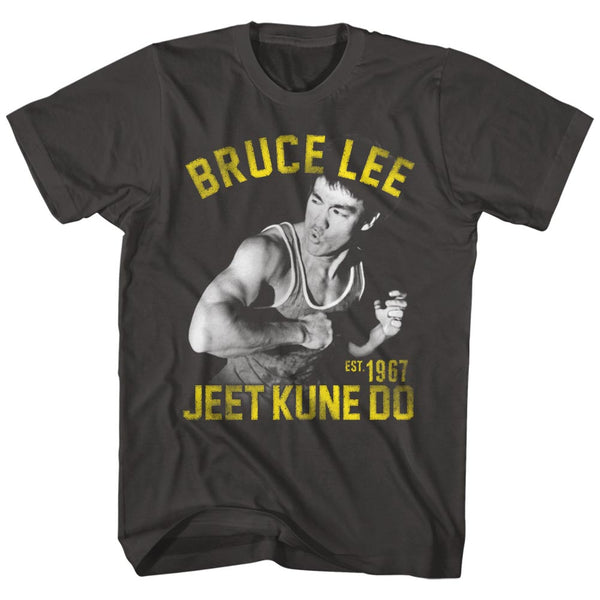 Bruce Lee EST. 1967 Jeet Kune Do t-shirt ia available at Rocker Tee