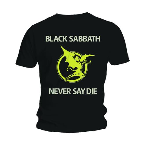 Black Sabbath Unisex Tee: Never Say Die