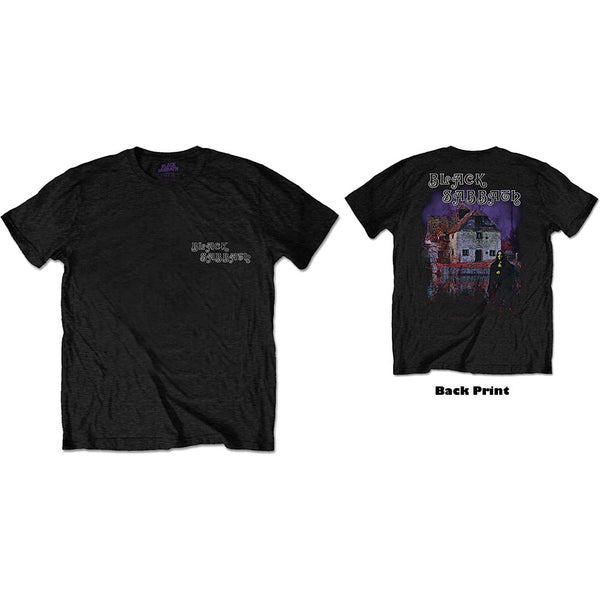 Black Sabbath Unisex Tee: Debut Album (Back Print)