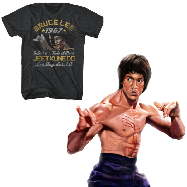 Buy officially licensed Bruce Lee t-shirts at rockertee.com
