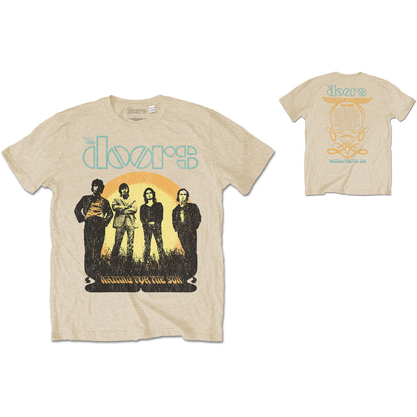 The Doors Unisex Tee: 1968 Tour (Back Print) (XX-Large)