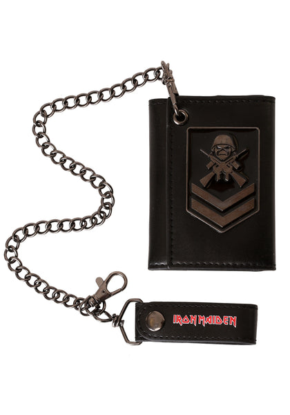Iron Maiden Matter of Life and Death Tri-Fold Wallet is available at Rocker Tee