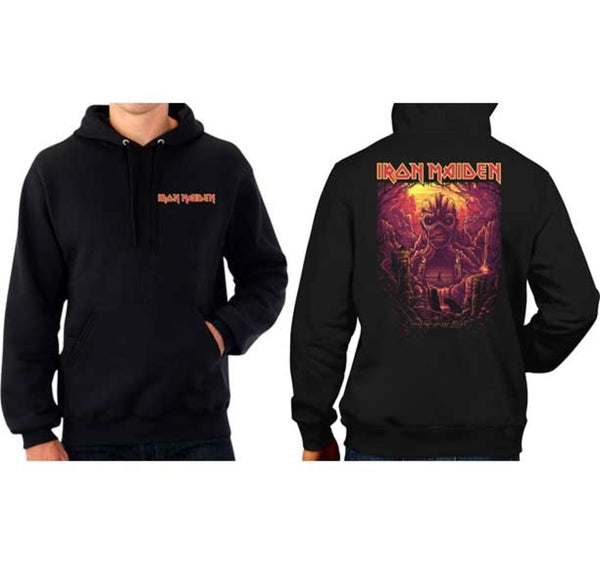 Iron Maiden Shadows of The Valley Hoodie is available at Rocker Tee