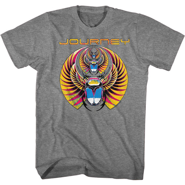 Journey Tri-Scarab adult short sleeve t-shirt.