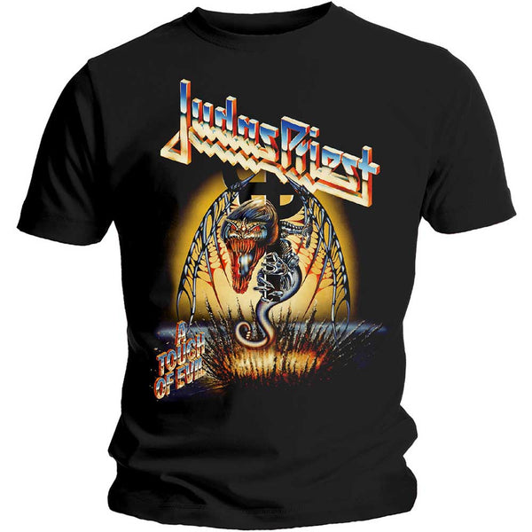 Judas Priest Unisex Tee: Touch of Evil