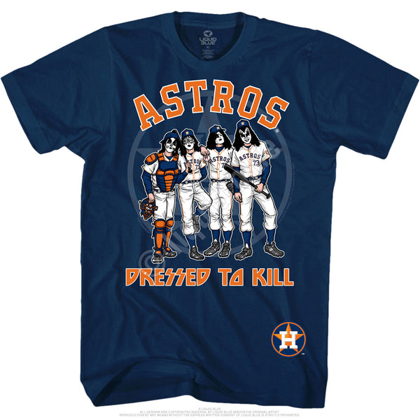 Houston Astros Dressed to Kill Navy T-Shirt