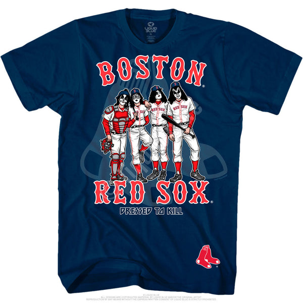 Boston Red Sox Dressed to Kill Navy T-Shirt