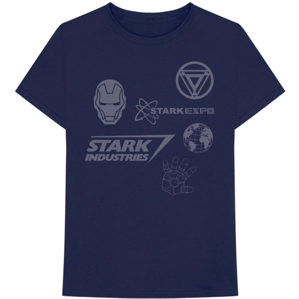 Marvel Comics Unisex Tee: Iron Man Stark Expo