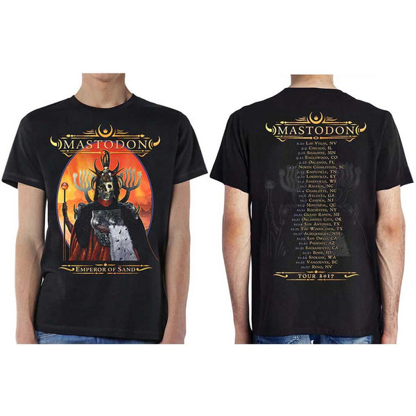 Mastodon Unisex Tee: Emperor of Sand Autumn 2017 (Ex Tour) (XX-Large)