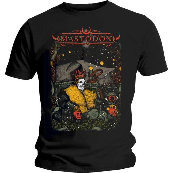 Mastodon Unisex Tee: Seated Sovereign (XX-Large)