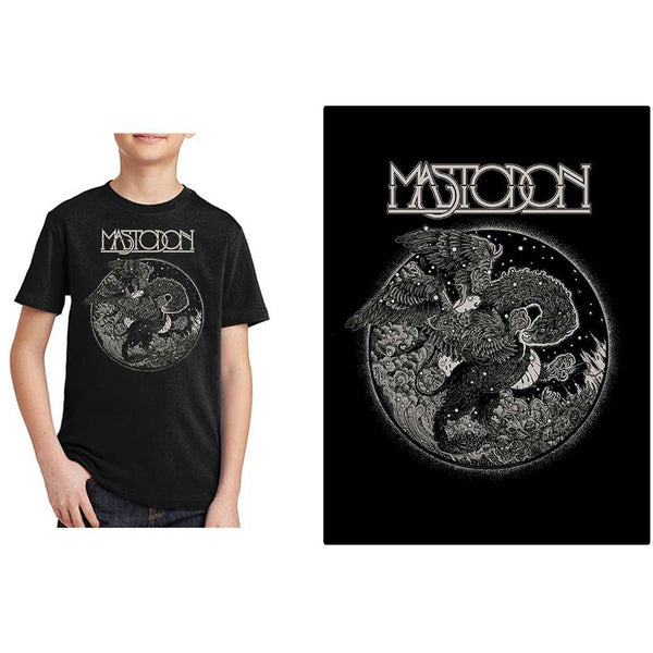 Mastodon Kids Tee: Griffin (13 - 14 Years)