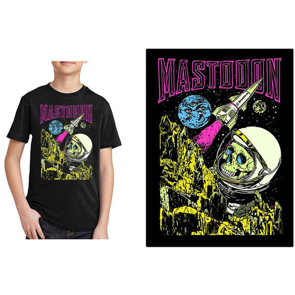 Mastodon Kids Tee: Space Colorization (13 - 14 Years)