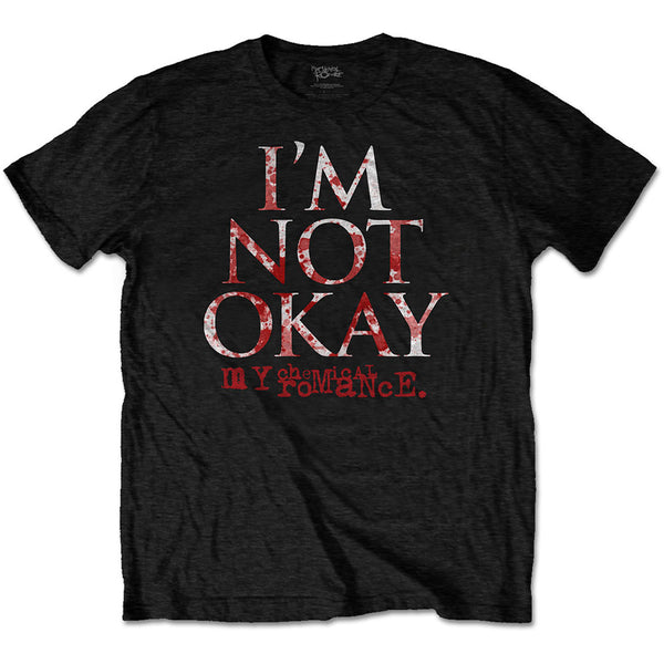 My Chemical Romance Unisex Tee: I'm Not Okay (XX-Large)