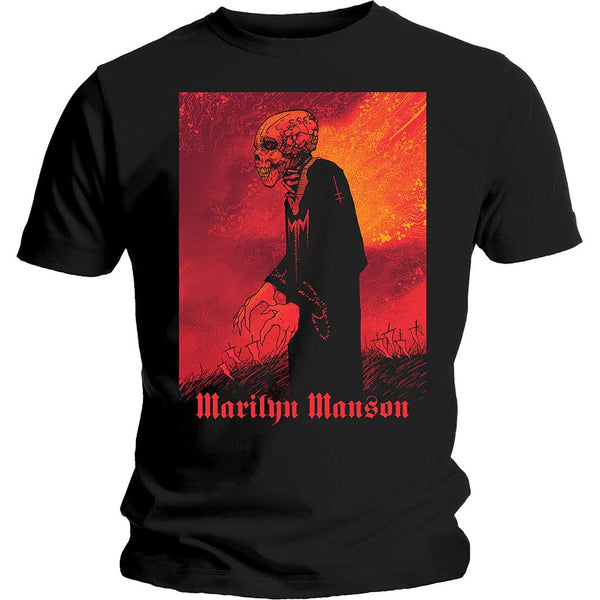 Marilyn Manson Unisex Tee: Mad Monk (XX-Large)