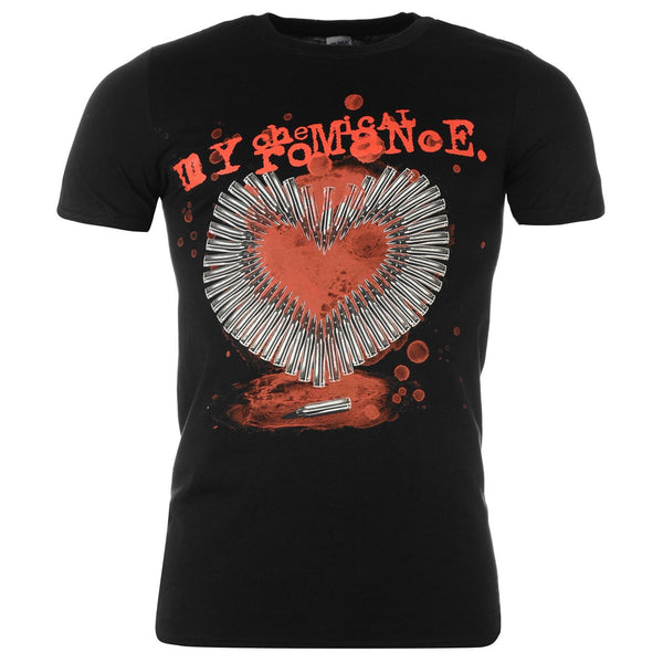 My Chemical Romance Smoking Gun t-shirt is available at Rocker Tee.