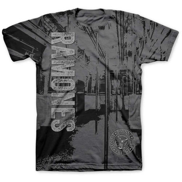 Ramones Unisex Tee: Subway (Sublimated)