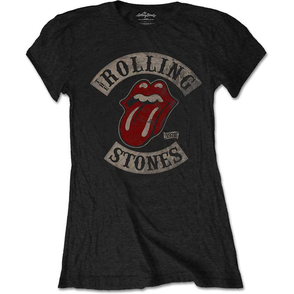 The Rolling Stones Ladies Tee: Tour 1978 (XX-Large)