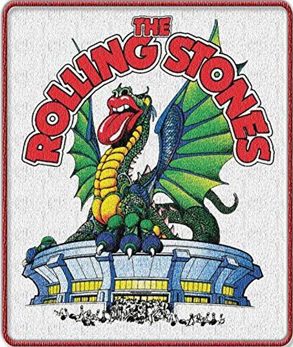 Rolling Stones Dragon Patch is available at Rocker Tee
