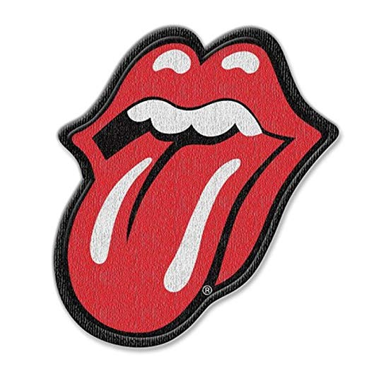 Rolling Stones Classic Tongue Logo Patch is available at Rocker Tee.
