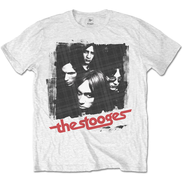 Iggy & The Stooges Unisex Tee: Four Faces (XX-Large)