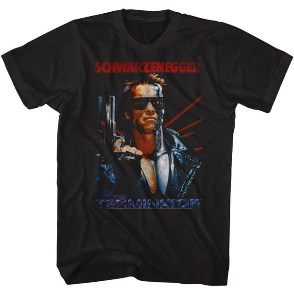 Schwarzenegger The Terminator T-Shirt is available at Rocker Tee