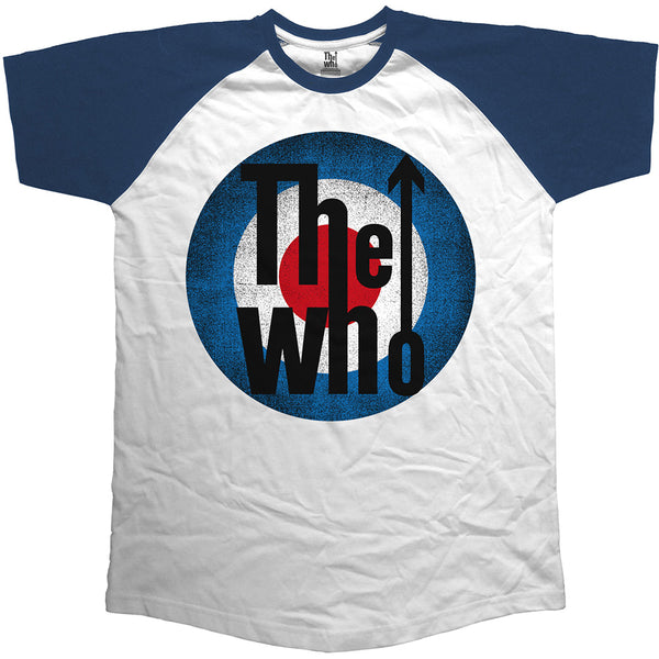 The Who Unisex Raglan Tee: Vintage Target (XX-Large)