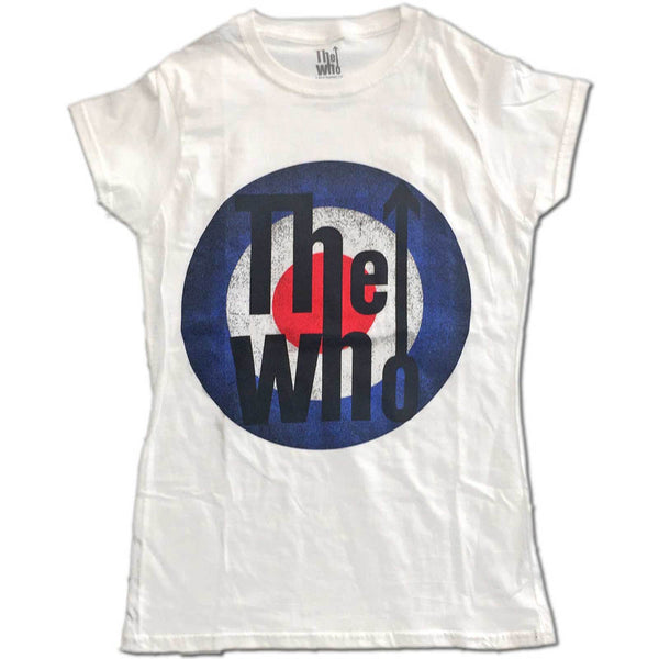 The Who Ladies Tee: Vintage Target (XX-Large)