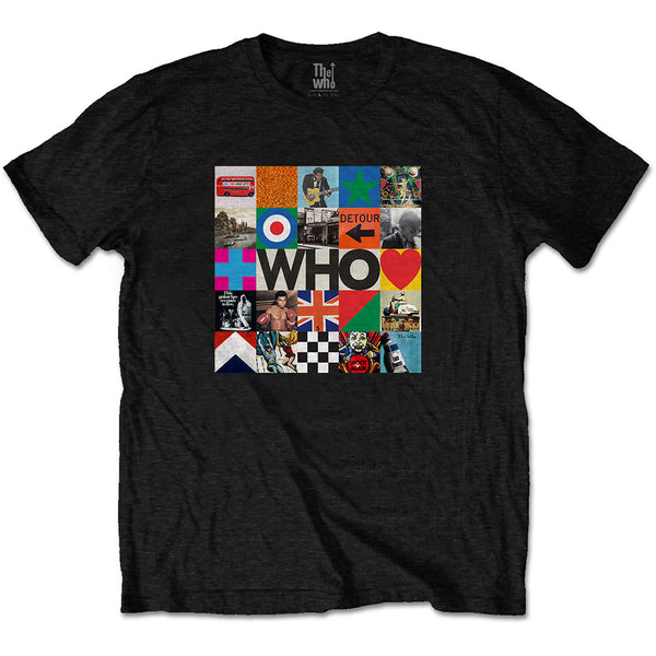 The Who Unisex Tee: 5x5 Blocks (XX-Large)