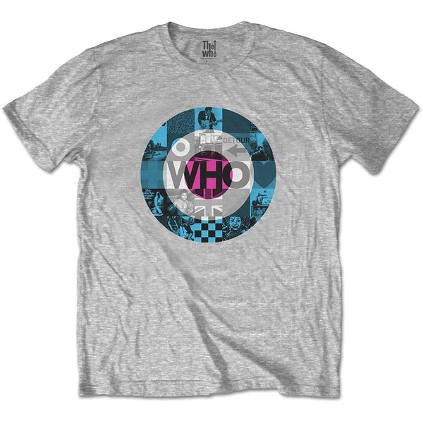The Who Unisex Tee: Target Blocks (XX-Large)