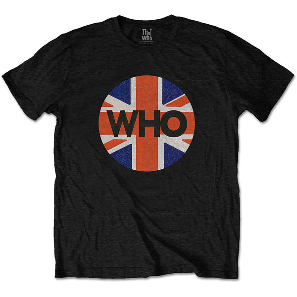 The Who Unisex Tee: Union Jack Circle (XX-Large)