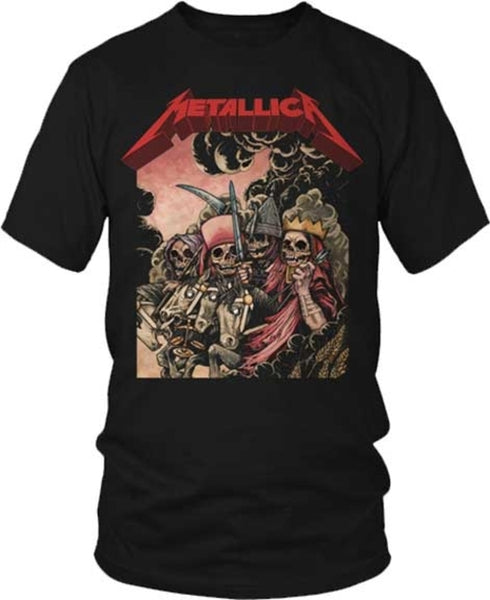 Metallica The Four Horsemen T-Shirt is available at Rocker Tee