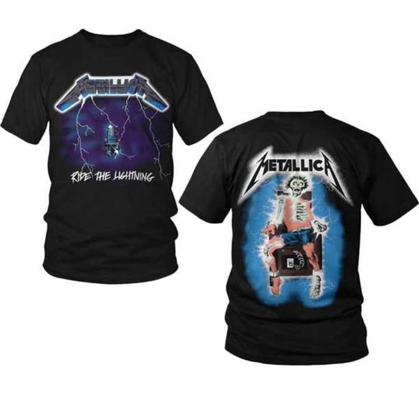 Metallica Ride The Lightning T-Shirt is available at Rocker Tee