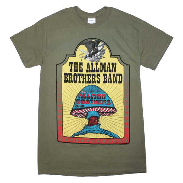 Allman Brothers Mushroom T-Shirt is available at Rocker Tee