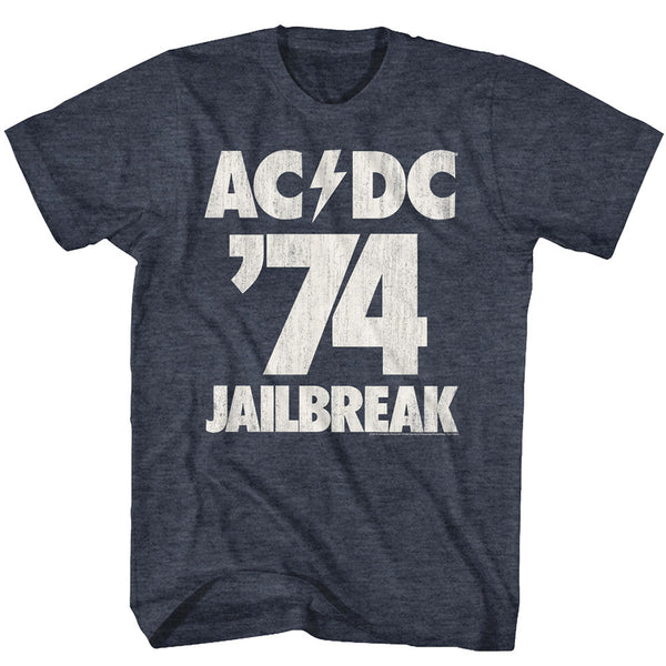 AC/DC Jailbreak 74 t-shirt is available at Rocker Tee