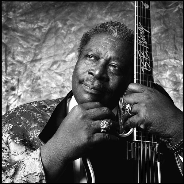 BB King in Cleveland, 1993  original photography by Ken Settle is available at Rocker Tee Shirts
